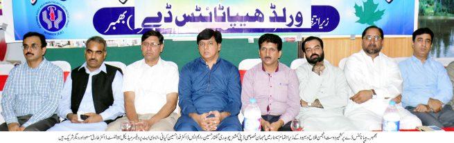 World Hepatitis Day, Ceremony