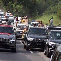 Nawaz Sharif's Caravan