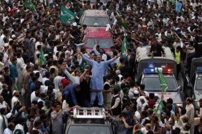 Nawaz Sharif Caravan