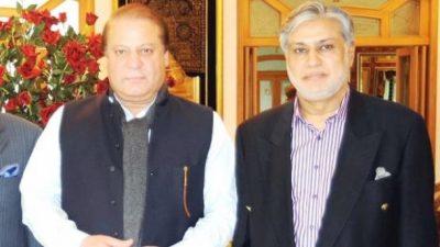 Nawaz Sharif, Ishaq Dar