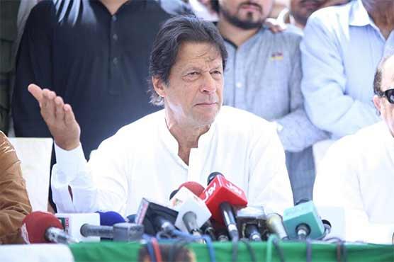 زرداری اور فریال تالپور کے ہوتے سندھ ٹھیک نہیں ہو سکتا: عمران خان