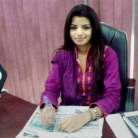 Journalist Zeenat Shahzadi