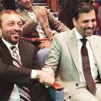 Farooq Sattar and Mustafa Kamal