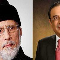 Tahir-ul-Qadri - Asif Zardari