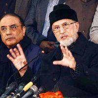 Asif Zardari - Tahir-ul-Qadri Meeting