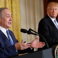 Donald Trump With Israeli PM