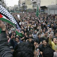 Protest in Palestine