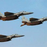 Saudi Allied Plane