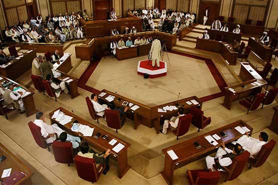 نئے قائد ایوان کے انتخاب کے لئے بلوچستان اسمبلی کا اجلاس جاری