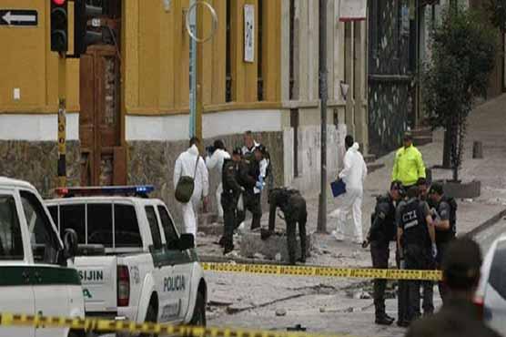 کولمبیا میں بم دھماکا، 4 پولیس اہلکار ہلاک، 42 افراد زخمی