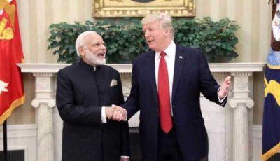 Donald Trump - Narendra Modi