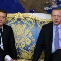 Emmanuel Macron - Rajab Tayyip Erdoğan