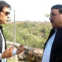 Imran Khan and Sheikh Rasheed