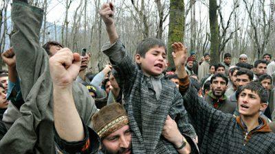 Kashmiris Protest