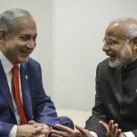 Netanyahu and Narendra Modi