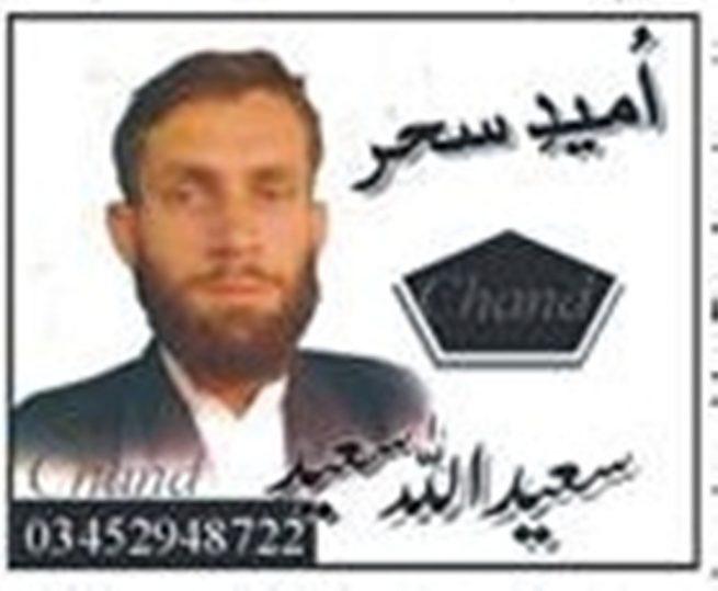 Saeedullah Saeed