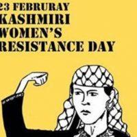 23 Feb Women Resistance Day