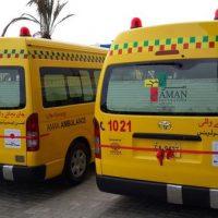 Aman Foundation Ambulance
