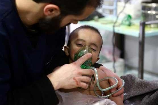 دمشق کے نواحی علاقے میں فضائی حملہ، آٹھ شہری جاں بحق