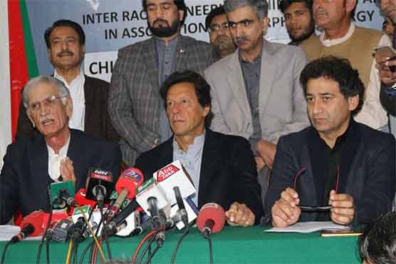 خیبر پختونخوا پولیس کے خلاف منظم مہم چلائی جا رہی ہے: عمران خان
