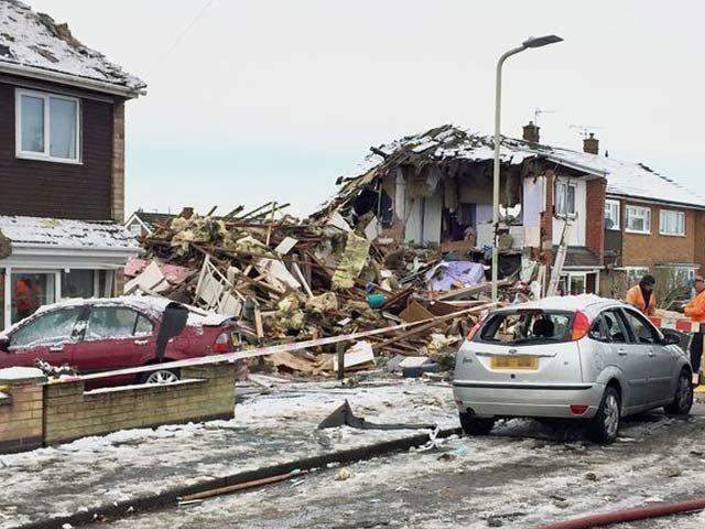 برطانوی شہر لیسٹر میں دھماکے سے 5 افراد ہلاک
