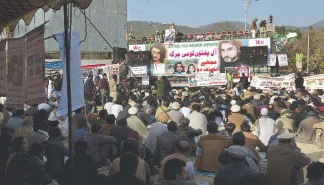 نقیب قتل: اسلام آباد میں دھرنے کے شرکاء 2 دھڑوں میں تقسیم