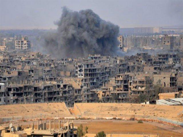 شامی علاقے مشرقی غوطہ میں جنگ بندی کیساتھ بمباری بھی جاری