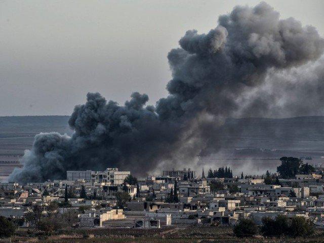 شامی فوج کی بمباری سے 94 شہری جاں بحق، 325 زخمی