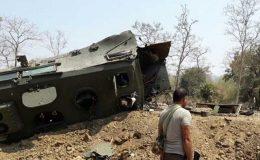 بھارت میں بم دھماکے میں 9 فوجی ہلاک، 10 زخمی
