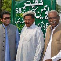 Ch.salamat with MPA Amir Hiraj