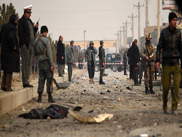 افغان صوبے ہلمند میں کار بم دھماکا، 15 افراد ہلاک اور 50 زخمی