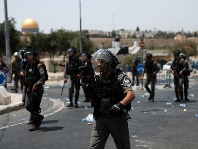 اسرائیلی فوج کی فائرنگ سے ایک فلسطینی نوجوان شہید، 66 زخمی