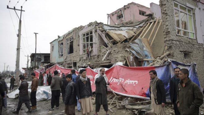 کابل: خودکش دھماکہ، ایک بچی ہلاک 20 افراد زخمی