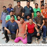 Karachi Weght Lifting Team Sindh Games