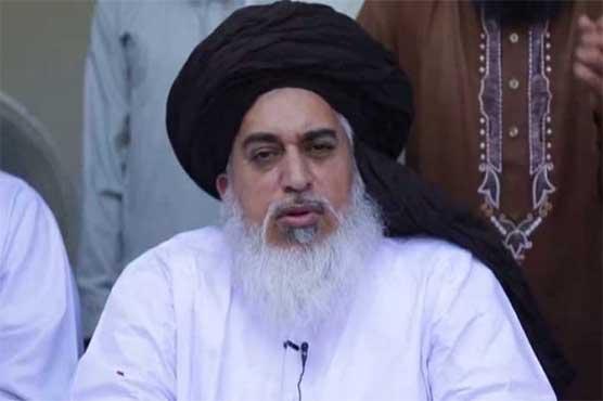 فیض آباد دھرنا: خادم رضوی کے مزید 5 مقدمات میں وارنٹ گرفتاری جاری