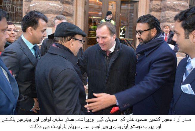 Massoud Khan Meeting