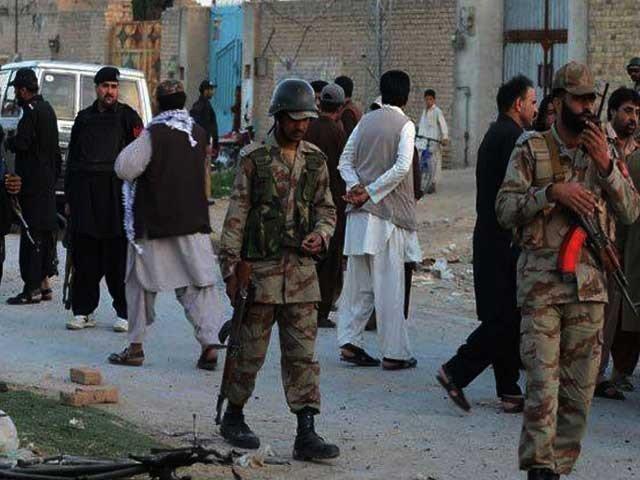 کوئٹہ میں خود کش حملہ، 4 اہلکار شہید اور 6 زخمی