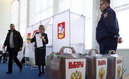 روس میں صدارتی انتخابات کیلئے پولنگ کا عمل جاری