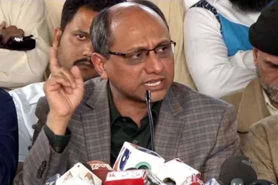 کراچی کے حالات بگاڑنے میں نواز شریف کا بھی ہاتھ ہے، سعید غنی