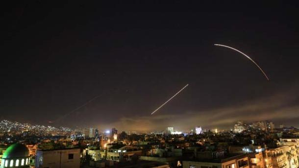 امریکہ باز نہ آیا، شام پر حملہ کر دیا