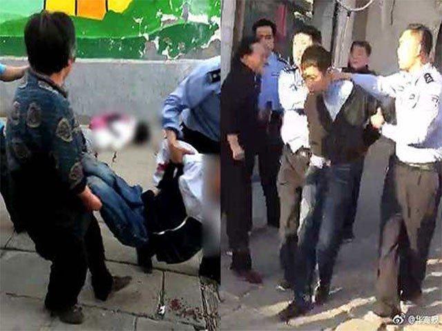 چین میں چاقو حملے سے 7 بچے ہلاک، حملہ آور گرفتار