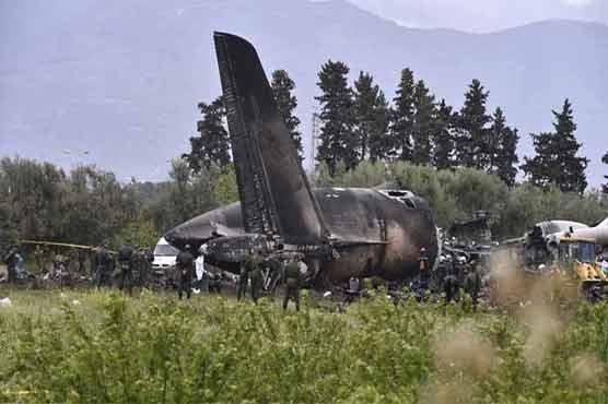 الجیریا میں فوجی طیارہ گر کر تباہ، عملے سمیت 257 افراد ہلاک
