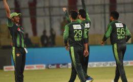 دوسرا ٹی ٹوئنٹی: پاکستان نے ویسٹ انڈیز کو 82 رنز سے شکست دے کر سیریز اپنے نام کر لی