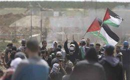 اسرائیل سے بے دخل مسلمانوں کا گھر واپسی احتجاج تیسرے ہفتے میں داخل
