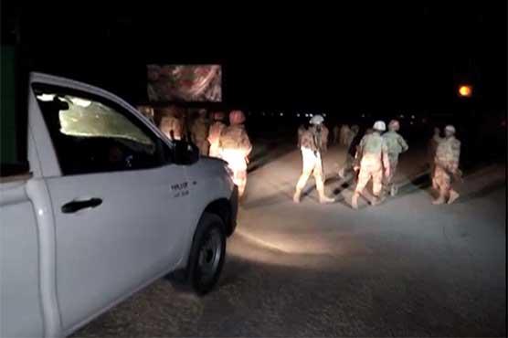 کوئٹہ میں ایف سی کی گاڑی کے قریب دھماکا، 5 افراد زخمی