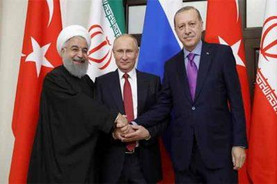 Russia, Turkey and Iran