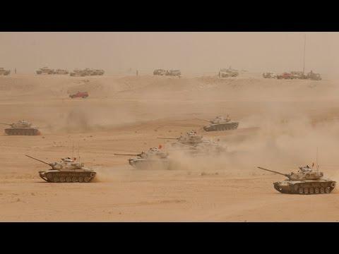 سعودی فوج کی مشقیں اور جنگی مہارتیں