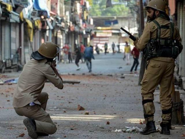 مقبوضہ کشمیر میں بھارتی سفاکیت کب ختم ہو گی