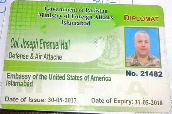 امریکی سفارتکار کرنل جوزف کو لینے طیارہ اسلام آباد پہنچ گیا، اجازت نہ ملی