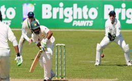 ڈبلن ٹیسٹ کا دوسرا روز: پاکستان نے 6 وکٹوں پر 268 رنز بنا لیے